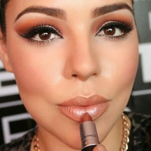 Bronze Mac Lipstick for Huge Lips