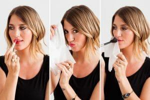 Lipstick Matte Process