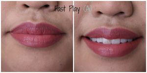 MAC Amplified Lipstick in Fast Play for Asian Skin