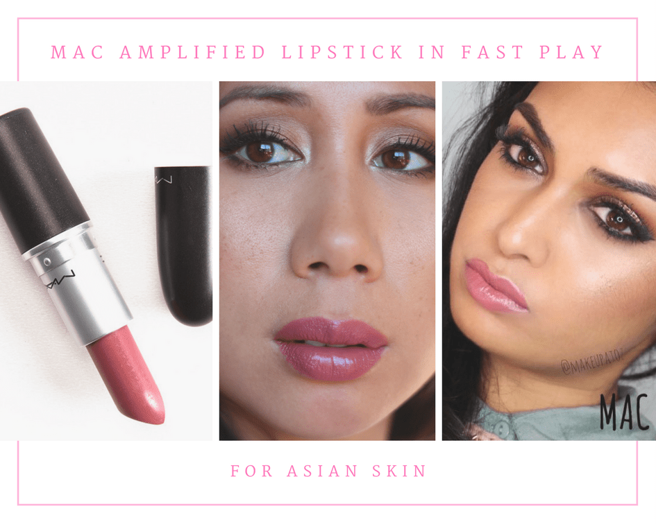 MAC Amplified Lipstick in Fast Play