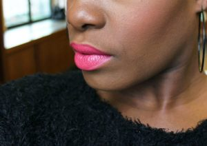 MAC Impassioned Worn by Dark Skinned Woman
