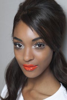 MAC Morange Amplified Creme Goddess Look
