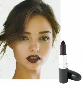 Miranda Kerr Wearing a MAC Lipstick