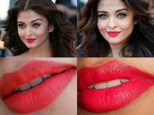 Red Lipstick for Indian Skin