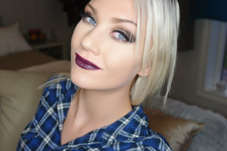 MAC Cyber Lipstick on Fair Skin