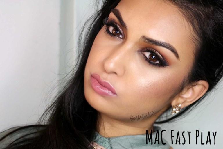 MAC Fast Play on Olive Skin