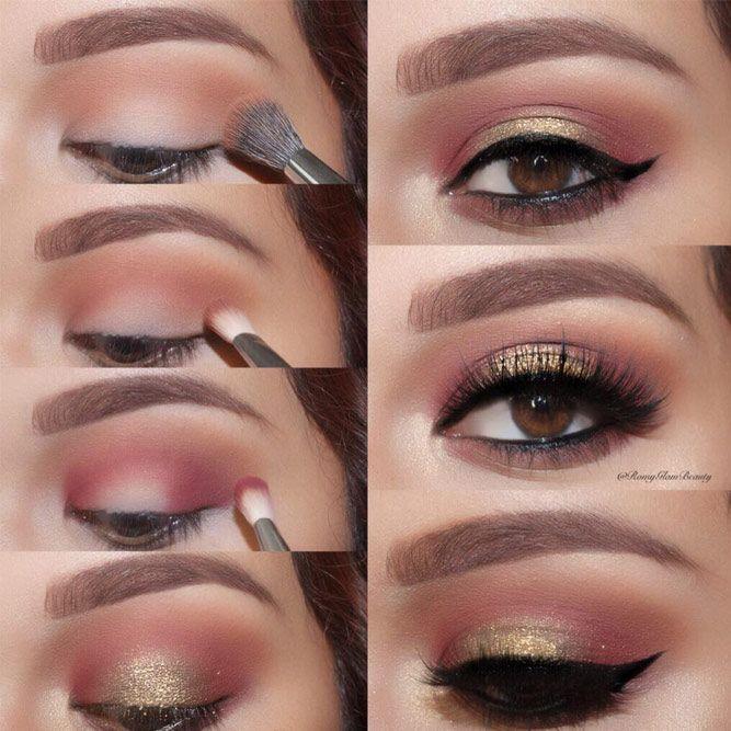 Brown Eye Makeup for Brown Eyes