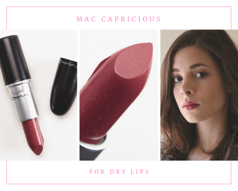 MAC Capricious Lipstick for Dry Lips