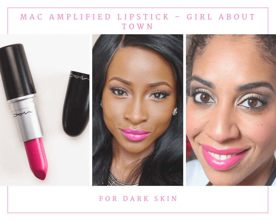 MAC Amplified Lipstick – Girl About Town