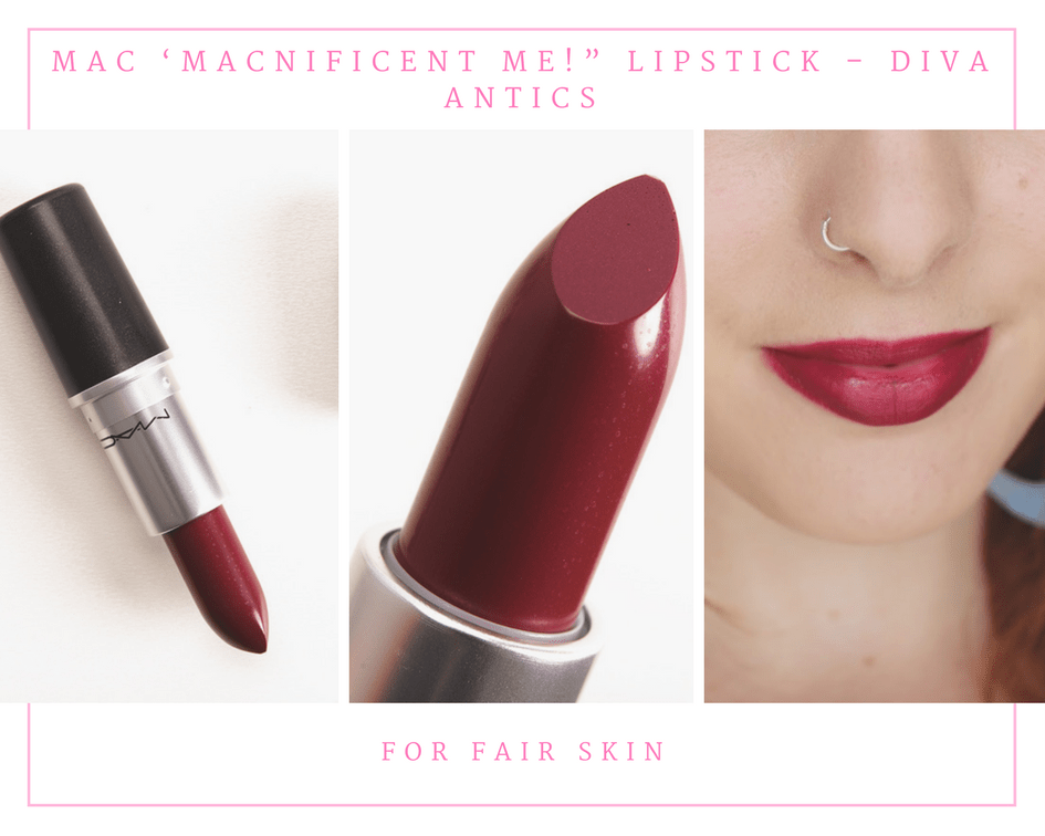 "MAC 'MACnificent Me!"" Lipstick – Diva Antics"