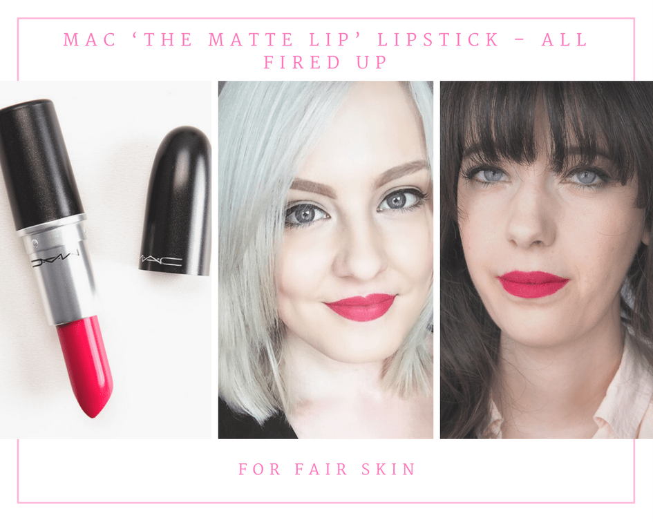 MAC 'The Matte Lip' Lipstick – All Fired Up