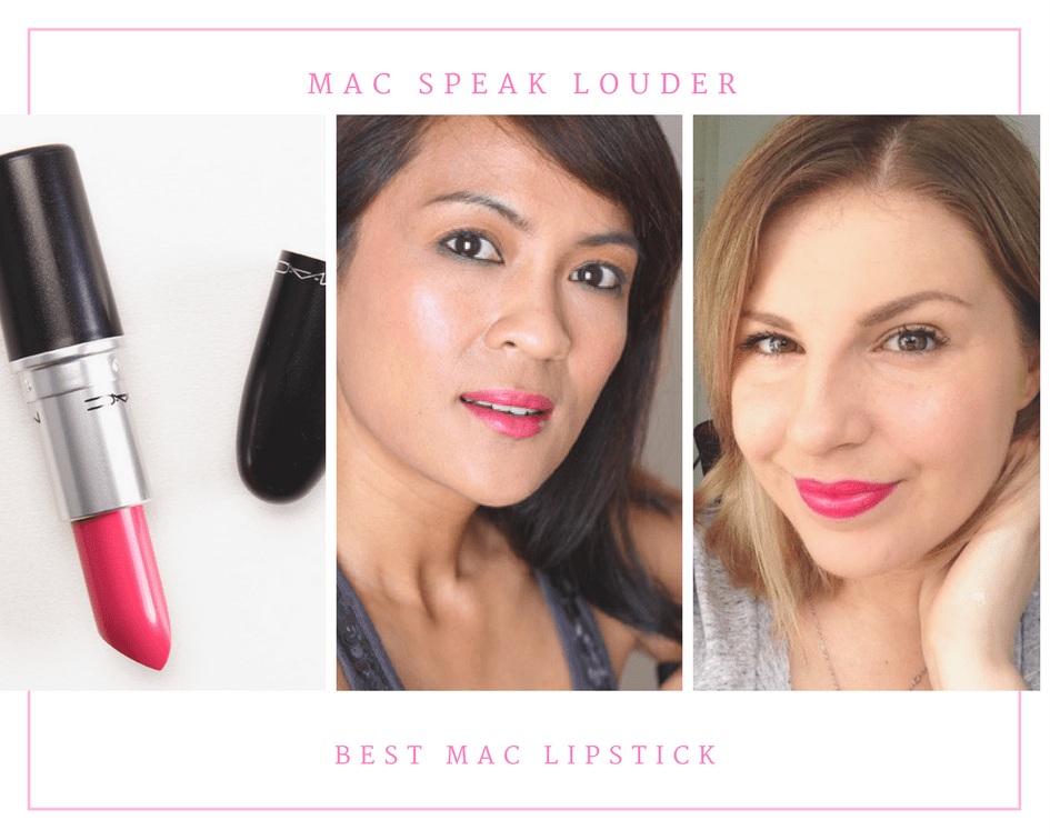 Click to read more reviews from the happy customers about the MAC Speak Louder lipstick!