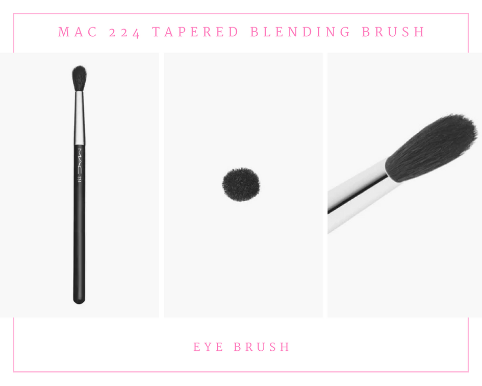 MAC 224 Tapered Blending Brush