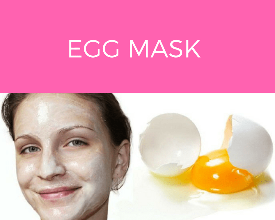 Egg Mask for Acne Prone Skin