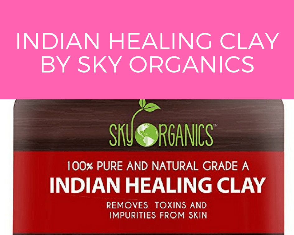 Indian Healing Clay By Sky Organics