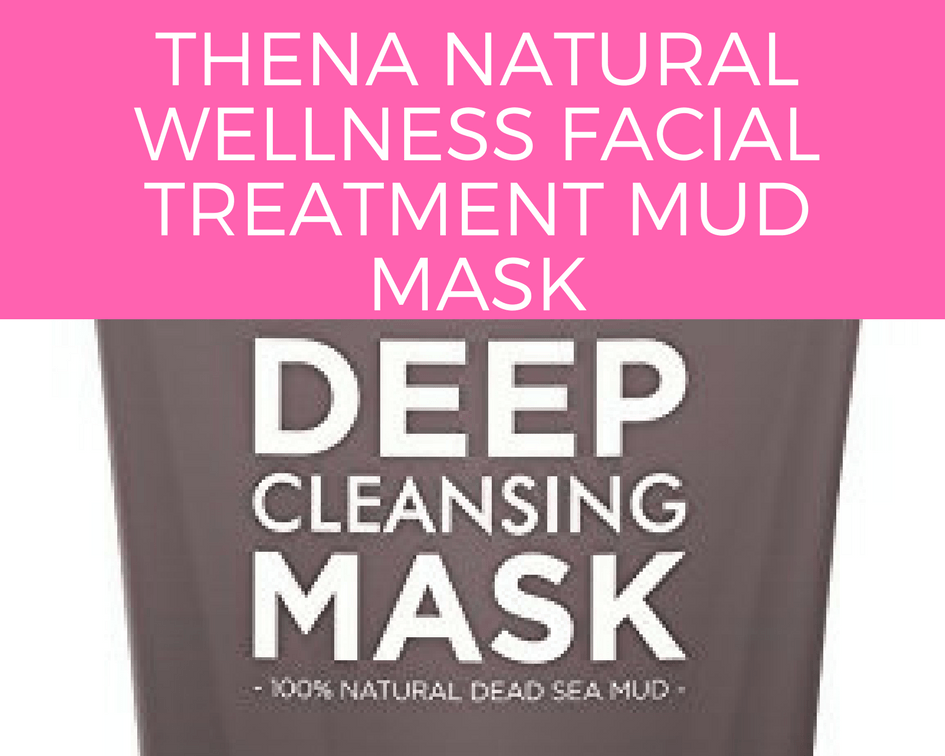 THENA Natural Wellness Facial Treatment Mud Mask